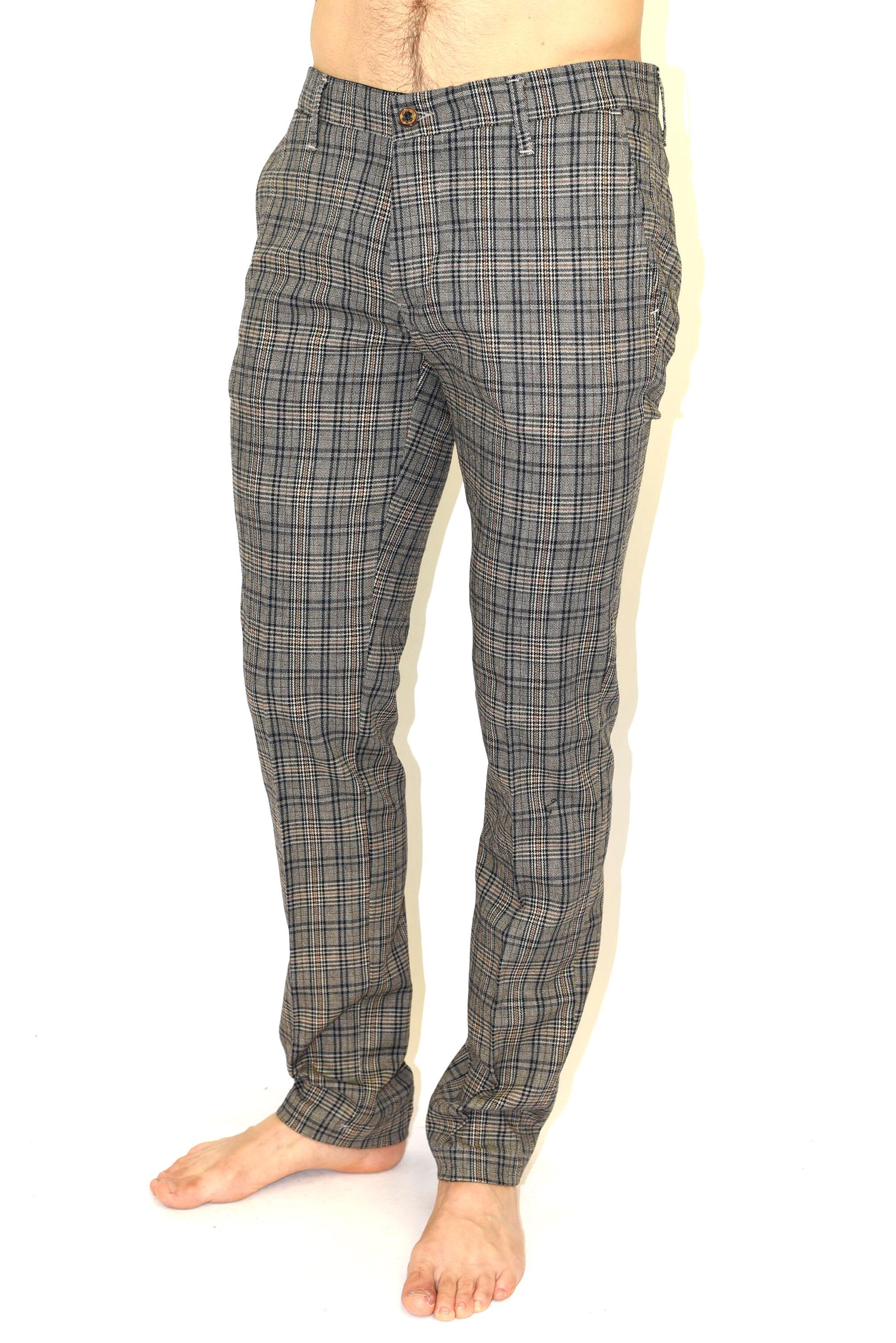 5c718af8a838c4 Pantalone chino fantasia scozzese di Imperial - Pantaloni Uomo | Uplà
