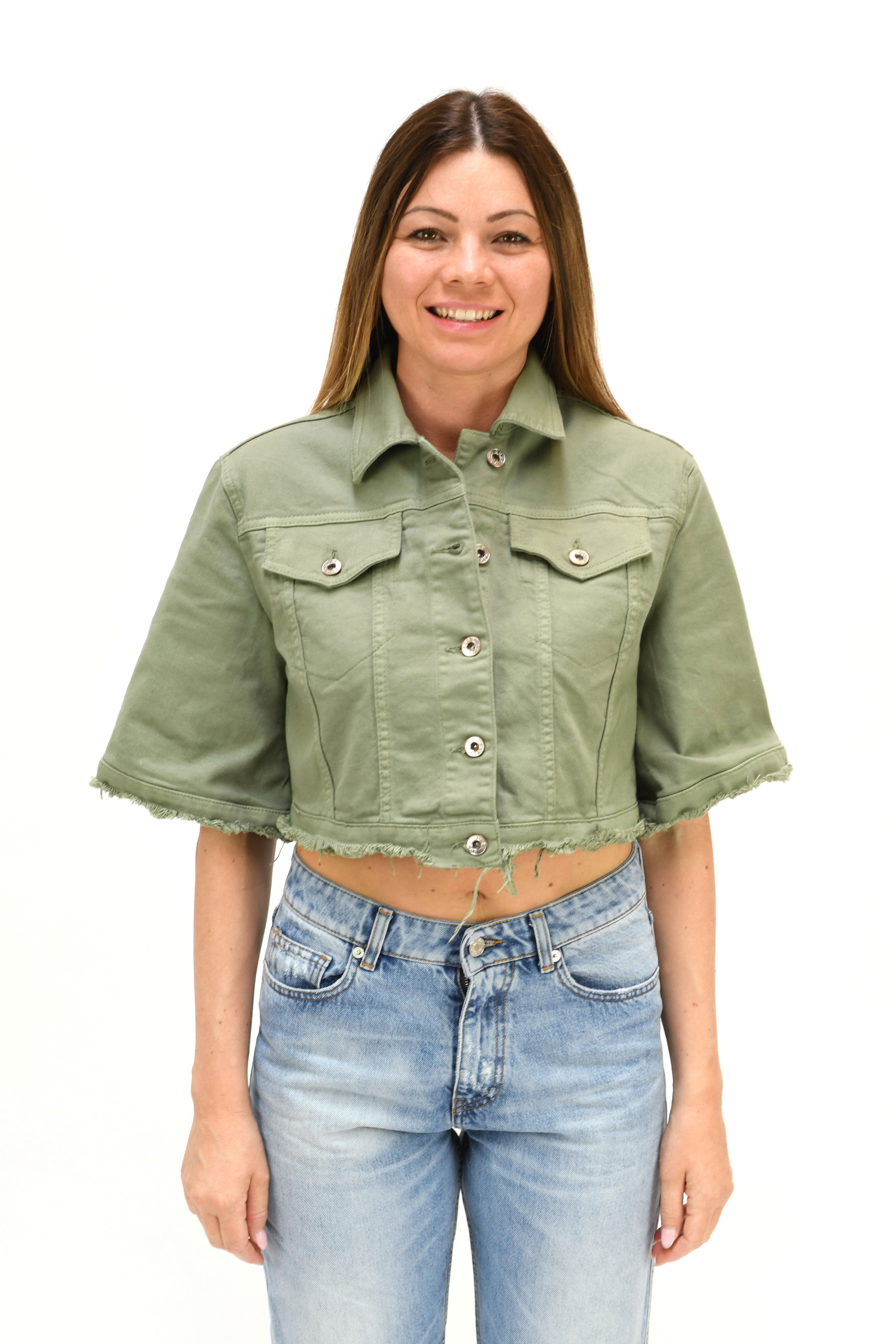 giacca jeans susy mix