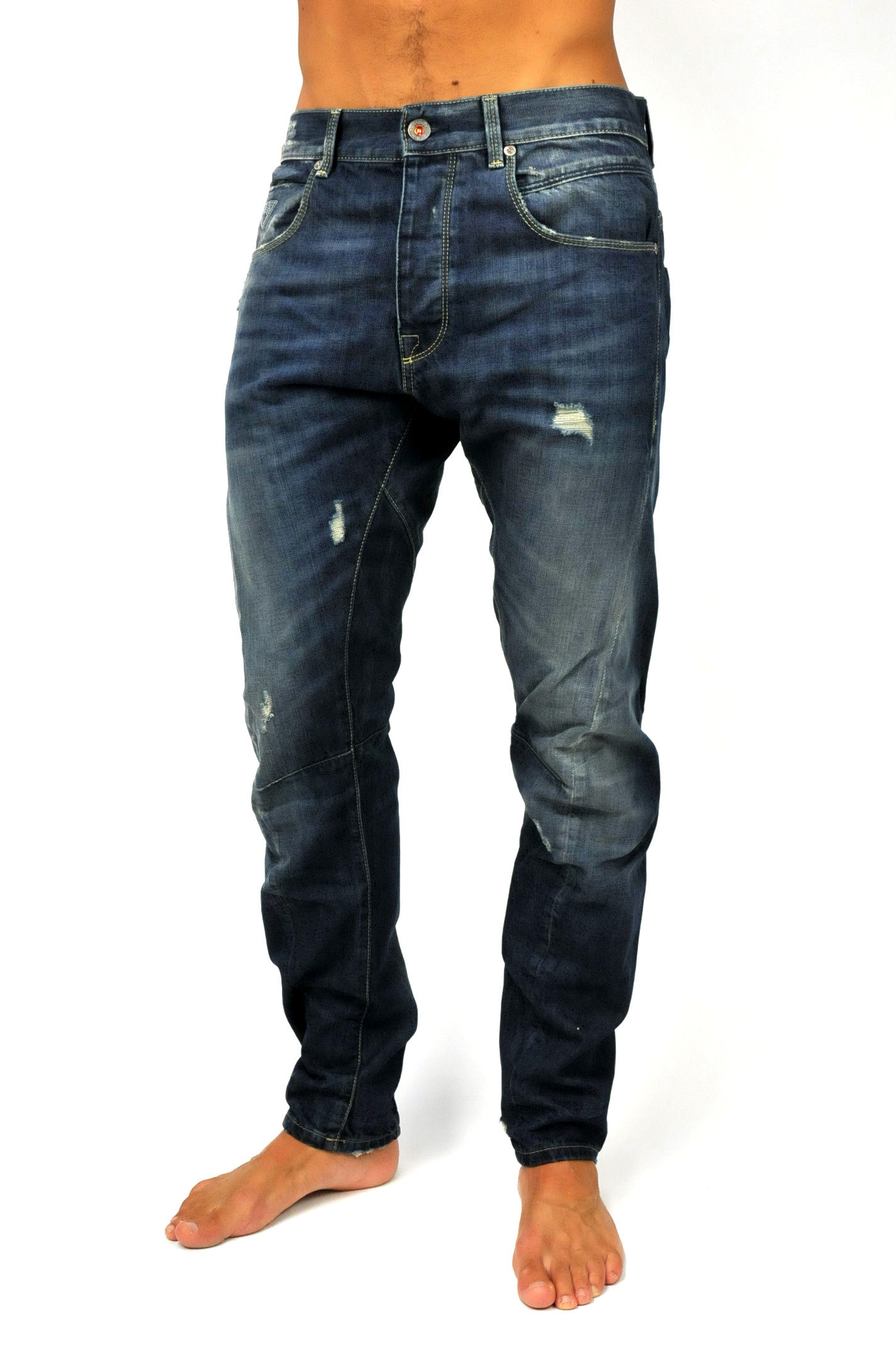 f4da7bc6cb62 Jeans scuro carrot fit di Fifty Four - Jeans Uomo