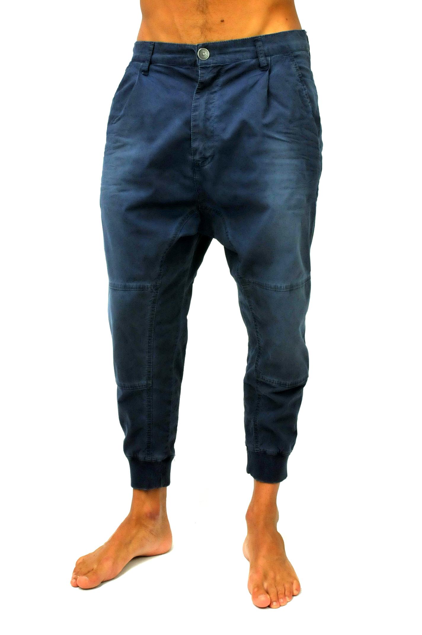 a basso prezzo 6588d c57ab Pantalone baggy con polsino su caviglia