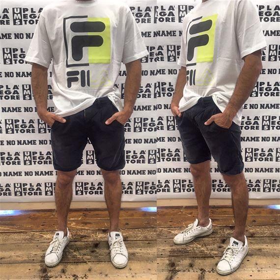 T-shirt SAKU giro fluo